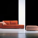 divano dado sofa arancione