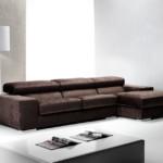 FLIP / Divano tre posti con chaise longue