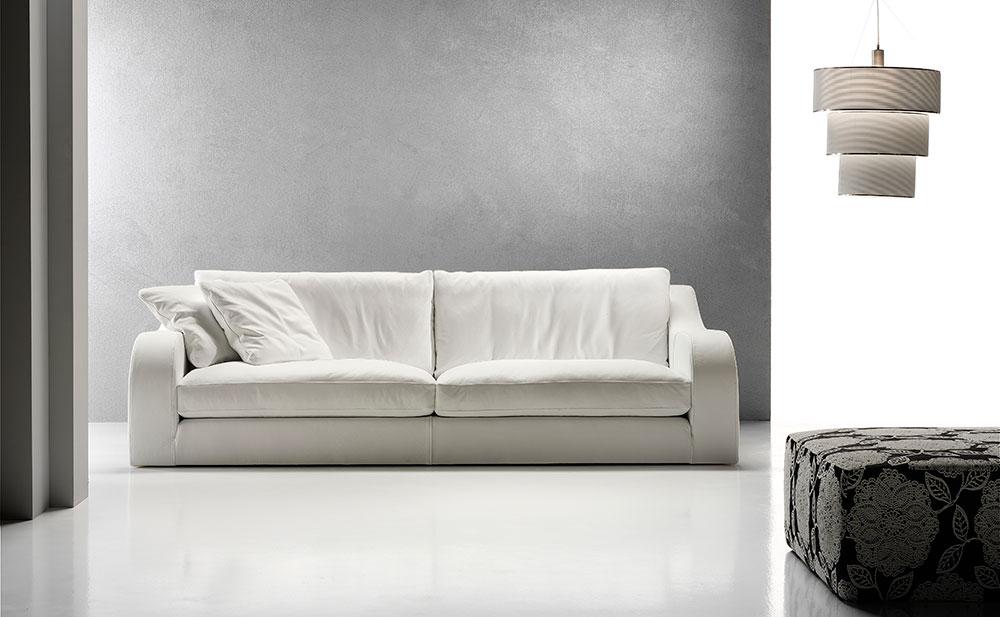 Joice catalogo divani urban salotti for Divano pelle bianco